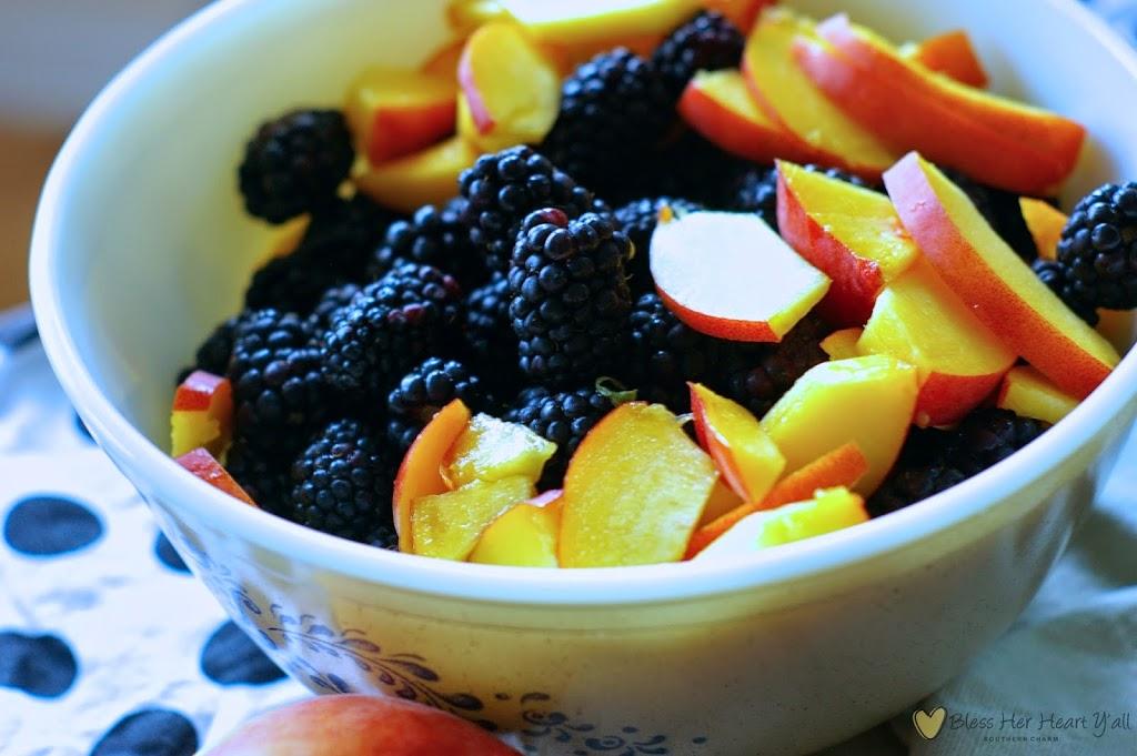 Gluten Free Blackberry Cobbler