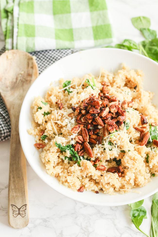 Parmesan Quinoa
