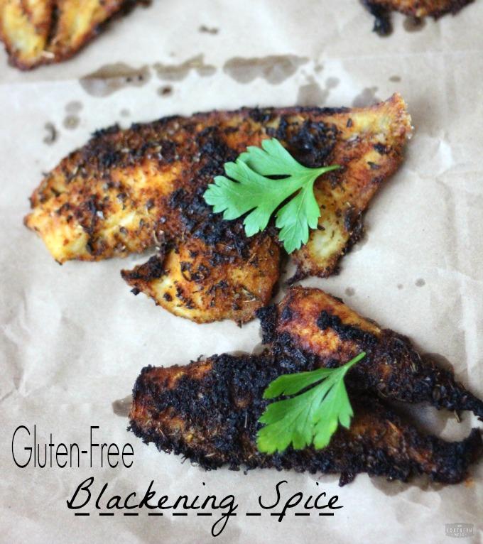gluten-free blackened flounder on the cheap