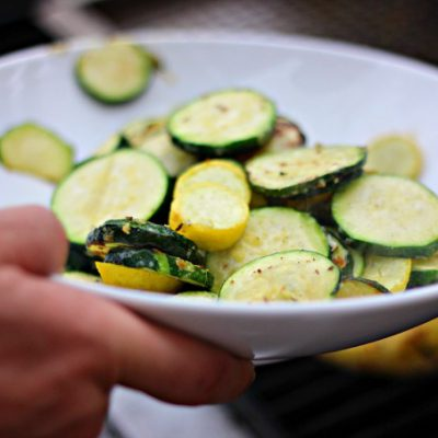 Quick Grilled Zucchini Squash