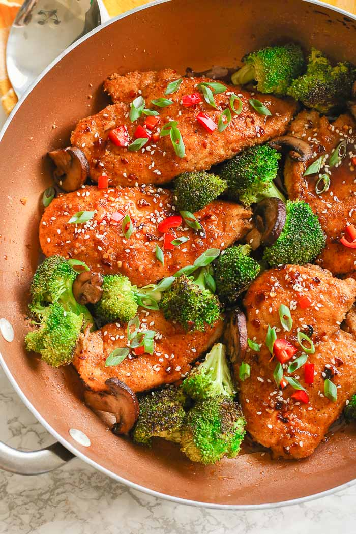 Asian Honey Chicken