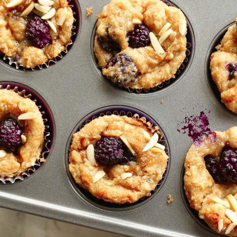best and easy gluten-free blackberry muffins recipe