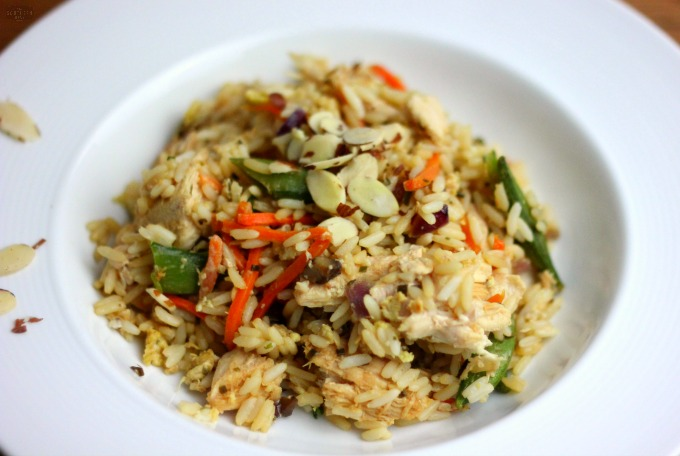 Better-Than-Takeout Chicken Fried Rice gluten-free recipe on the cheap and so easy to make!