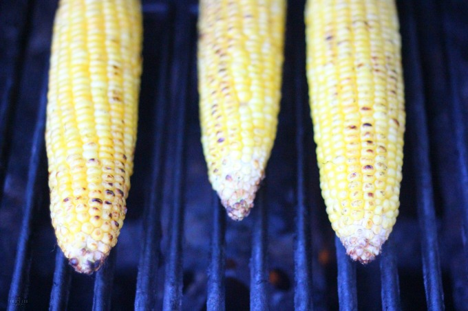 Skinny Mexican Grilled Corn gluten-free. A perfect gluten free Cinco de mayo and summer recipe