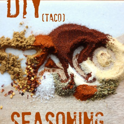 DIY Gluten-Free Taco Seasoning Mix