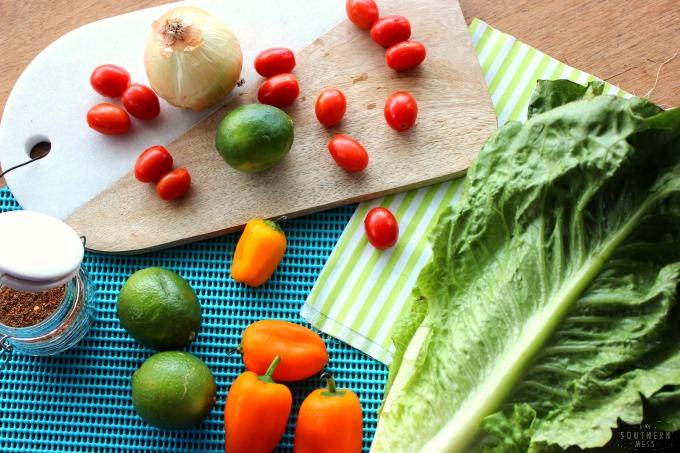 Budget Recipe Gluten-Free Spicy Taco Lettuce Wraps Roll Ups
