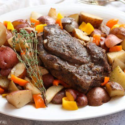 Summer Slow Cooker Pot Roast