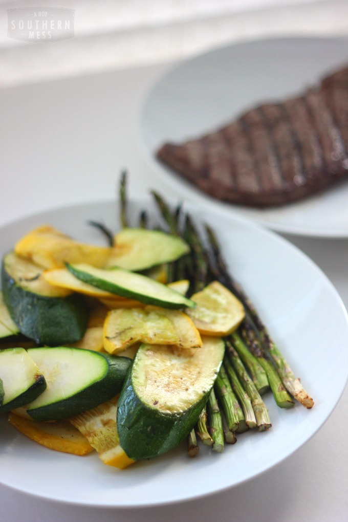 Here's another easy, fresh, healthy (and gluten-free) recipe from Hubby that's perfect for summer. This skinny recipe is quick and easy to prepare and grill up too! www.ahotsouthernmess.com