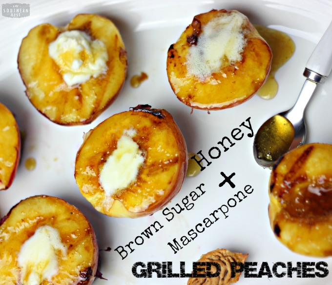 Grilled Georgia Peaches and Cream