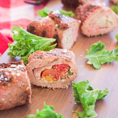 Grilled Spicy Steak Pinwheels