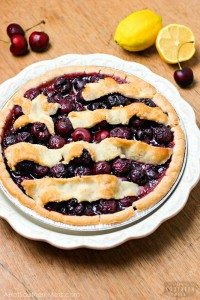 Moonshined (Gluten-Free) All-American Cherry Pie
