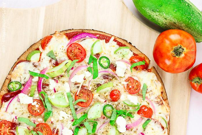 best cucumber pizza