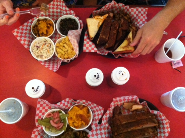 Praise The Lard BBQ Barbecue resturany review in Buford (Gwinnett county) GA. The best dry rub BBQ in Georgia! Nothing is fried and 85% of their menu is gluten-free!
