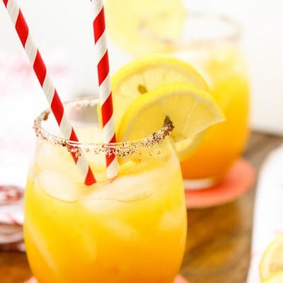 Spiked Chili Mango Lemonade