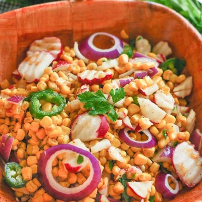 Chipotle-Lime Radish Salad