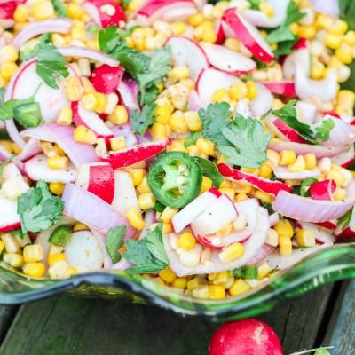 Chipotle-Lime Radish Salad