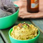 This gluten-free spicy pumpkin bacon dip is the perfect party snack to bring to your next fall party, tailgate, or couch snack. This spicy dip combines the healthy creaminess of greek yogurt cream cheese and pumpkin, with the heartiness of the cheese and bacon, and the spice of garlic, green onion, and cayenne pepper. Put this lightened up dip out with your favorite dippers and it will be gone in seconds. www.ahotsouthernmess.com