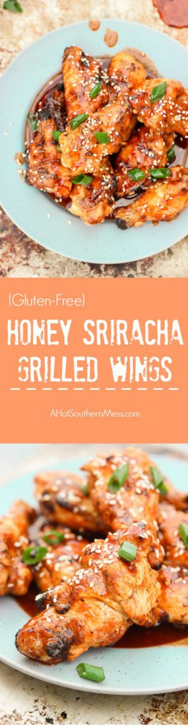 These wings are grilled, which makes them much healthier than restaurant and bar choices! They are incredibly easy to make and taste much fresher and tastier than anything you can buy! Perfect for tailgating and weekend parties! www.ahotsouthernmess.com