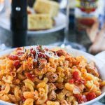 This spicy cajun chicken pasta combines heat, tender protein, and a creamy pasta into one dish. It's a spicy, creamy, and oh so delicious one-pot meal in under 30 minutes! www.ahotsouthernmess.com