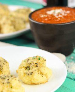 Gluten-Free Garlic Parmesan Rolls