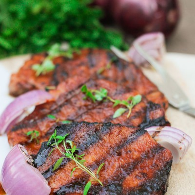Glazed Pork Chops with Brown Sugar (With Video)