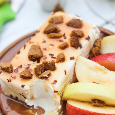 Spicy Caramel Apple Dip