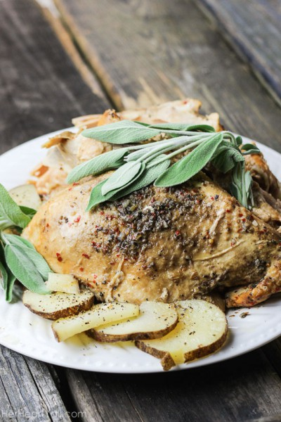 Spicy Sage Slow Cooker Turkey
