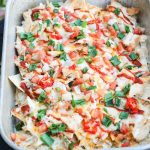 These Thanksgiving leftovers are so quick and easy to put together and serve while watching all those football games and during all of the family activities this Thanksgiving weekend. These turkey nachos turn your leftover turkey stash into a cheesy, crunchy, spicy {you know me...I just gotta add spice!}, gluten-free party food that will be scooped up in seconds! www.blessherheartyall.com