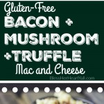 This gluten-free truffle mac and cheese recipe will blow your socks off in under 30 minutes! Let's combine bacon, mushrooms, truffle oil, some heat, and mac and cheese, shall we? Then we will create spicy, creamy, cheesy perfection.