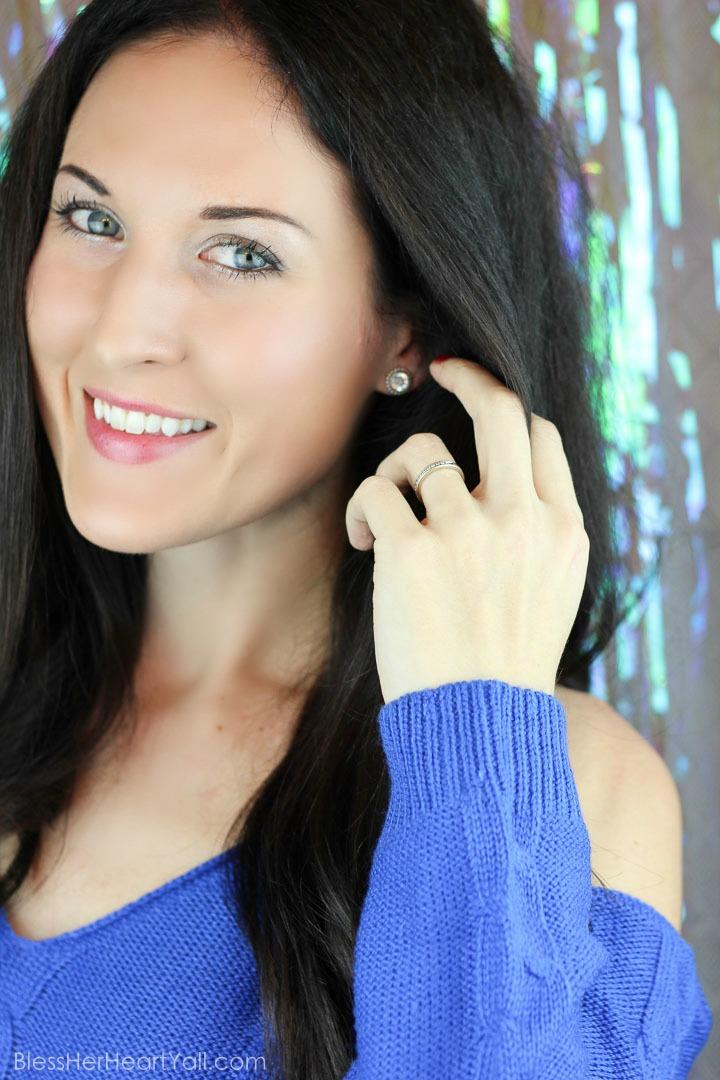 Ulta Silver Metallic Holiday Makeup tutorial (29 of 13)