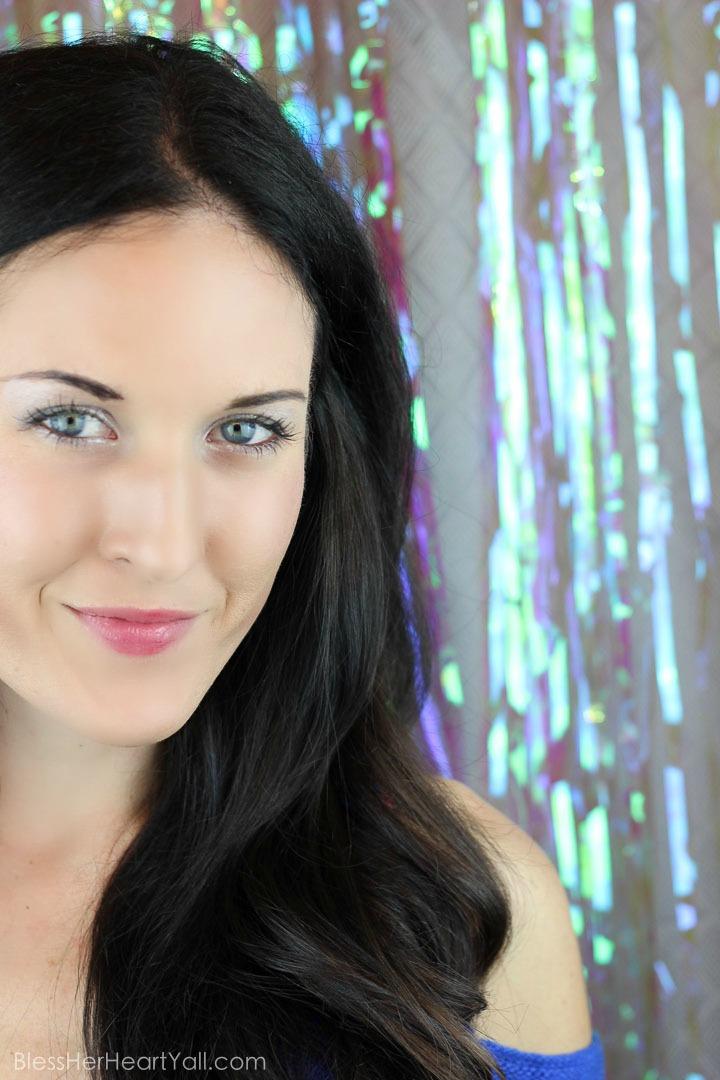 Ulta Silver Metallic Holiday Makeup tutorial (31 of 13)