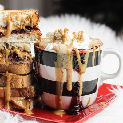 Peanut Butter & Jelly Hot Chocolate