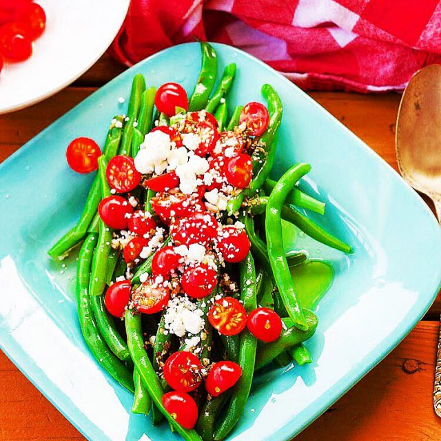 5Minute Greek Green Beans  because green beans should alwayshellip