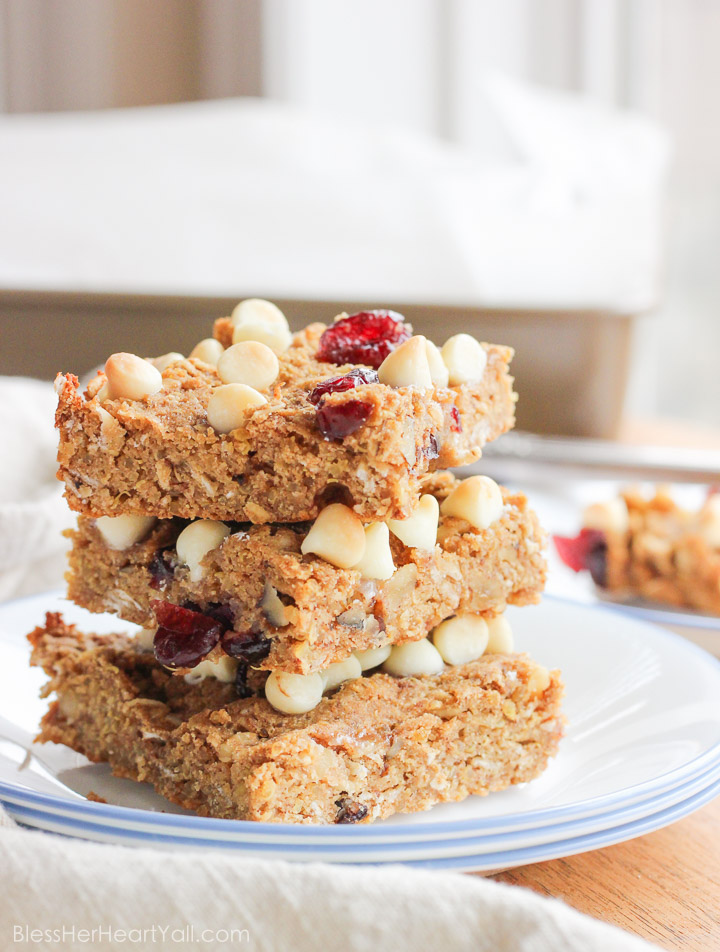 Gluten Free Quinoa Breakfast Bars