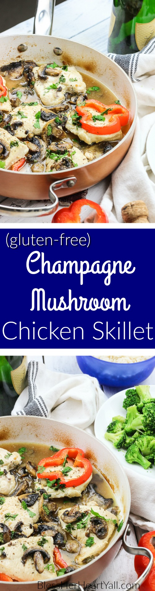 champagne mushroom chicken long pin 1
