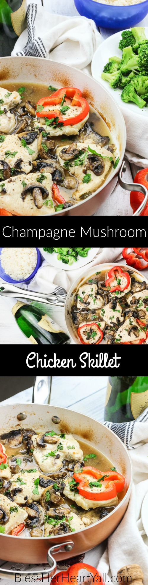 champagne mushroom chicken long pin 3