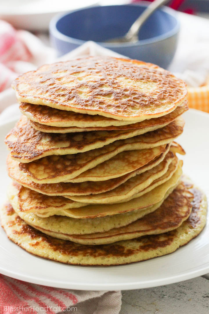 gluten-free pancakes strawberry champagne sauce (1 of 7)