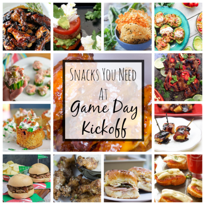 Snacks You Need At Game Day Kickoff