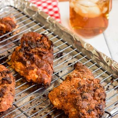 Gluten-Free Baked Nashville Hot Chicken