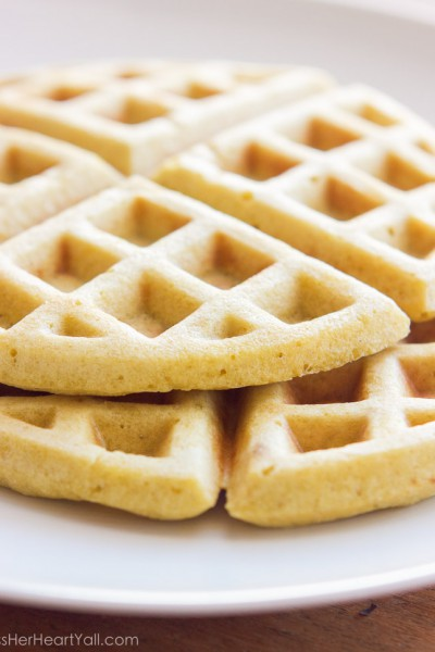 Gluten-Free Brown Sugar Waffles