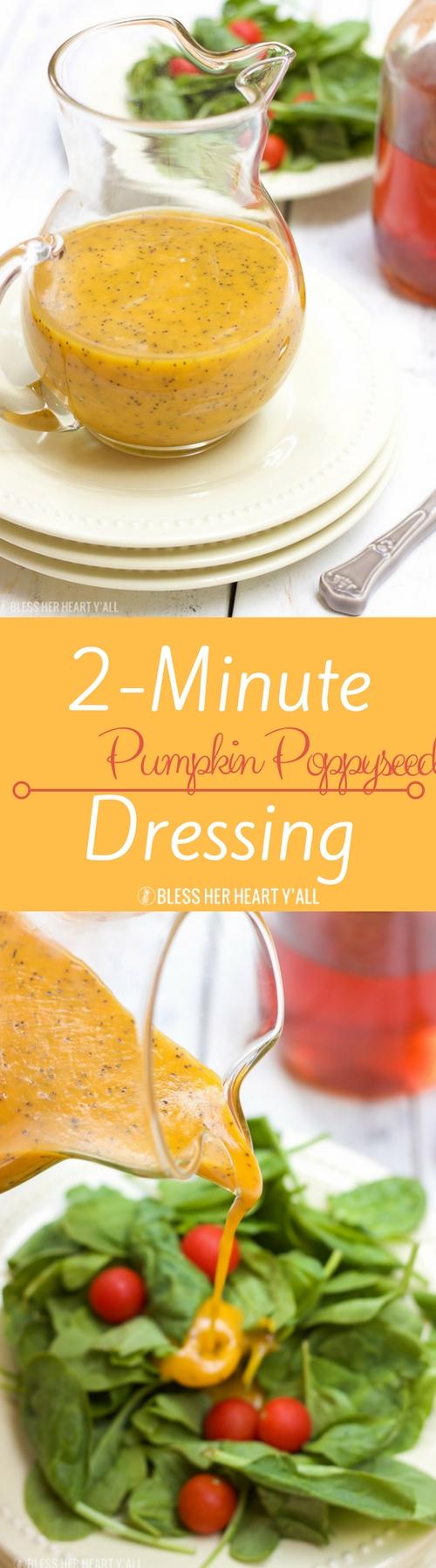 Pumpkin Poppyseed Dressing