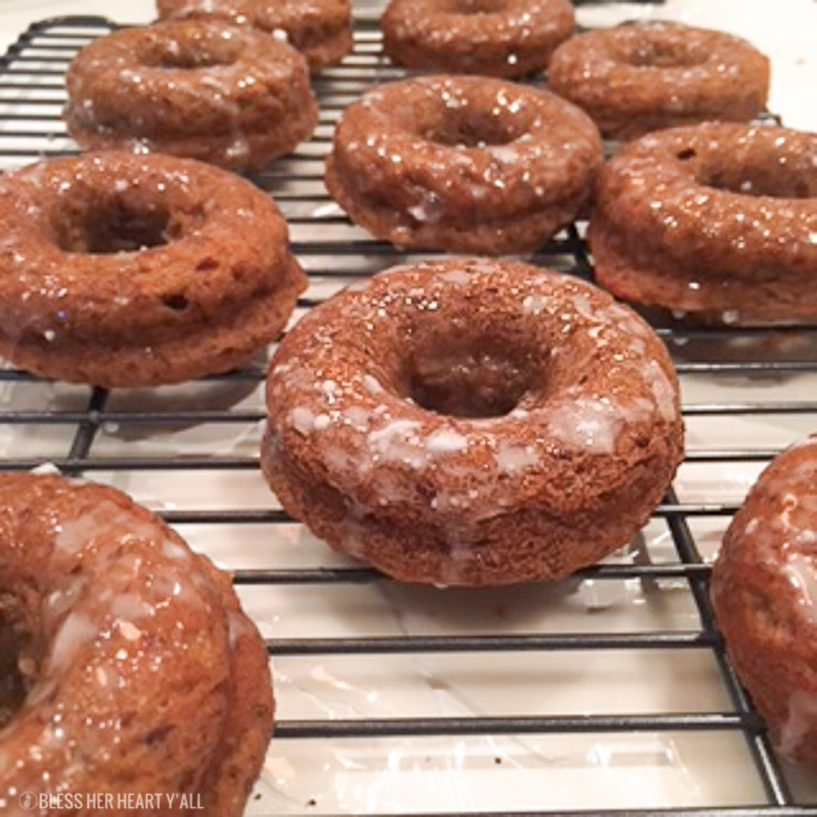 Old Fashion Baked Glazed Donuts Gluten-Free