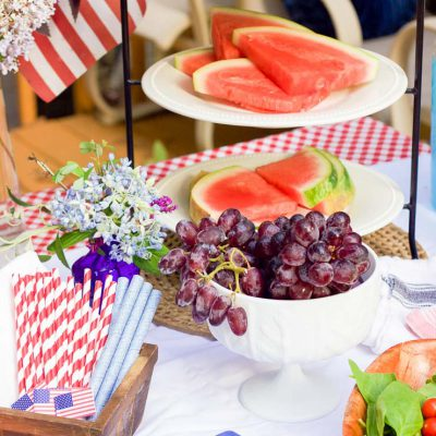 Patriotic Labor Day Party Ideas