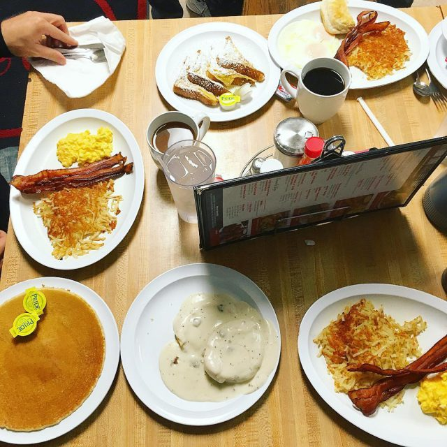Showing the inlaws what an real southern breakfast looks likehellip