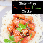 This sriracha lime chicken skillet is a quick and easy 15-minute recipe that sautees juicy chicken pieces and coats them in a sriracha, honey, and lime drizzle. It's sweet and oh so spicy with an asian-flair!