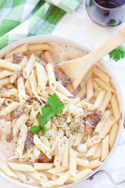 Skinny Homemade Maggiano's Gluten-Free Rigatoni D