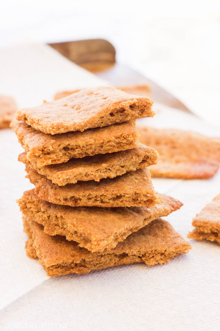 Paleo Gluten-Free Graham Crackers