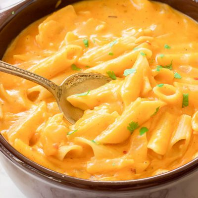 Gluten-Free Pumpkin Mac and Cheese
