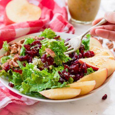 Apple Cider Poppyseed Salad