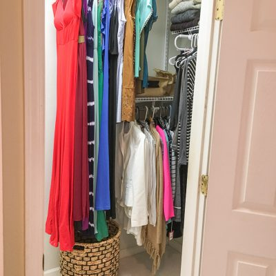 Easy Master Closet Organization
